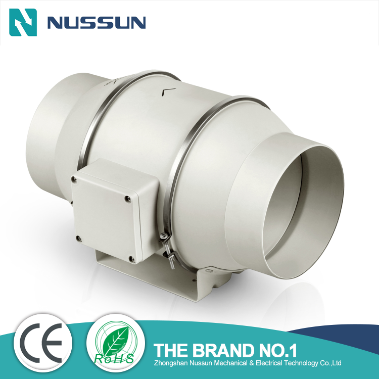 sc 1 st  Zhongshan Nussun Mechanical u0026&; Electrical Technology Co.Lte! & Mixed flow inline duct fan for grow tent ventilation(DJT31UM-66P)