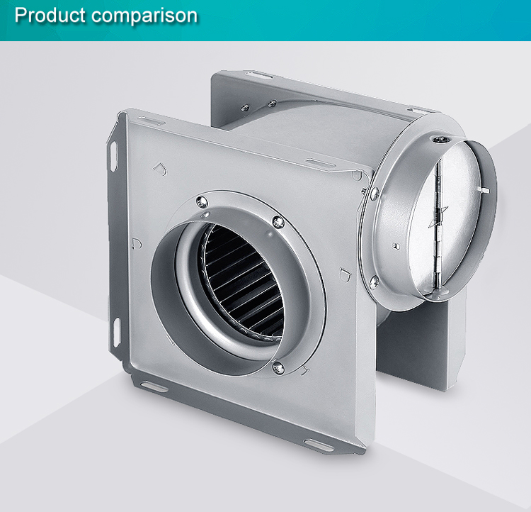Wholesale vertical duct sirocco fan manufacture(DPT15-33)