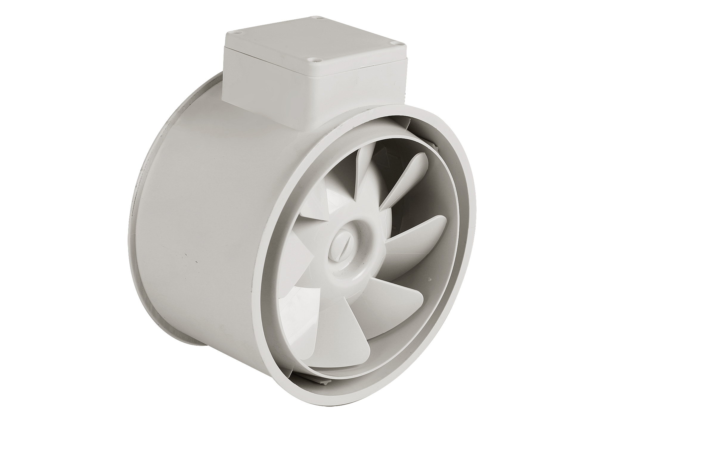 Mixed flow inline duct fan for  Agriculture ventilation(DJT75UM-25P)