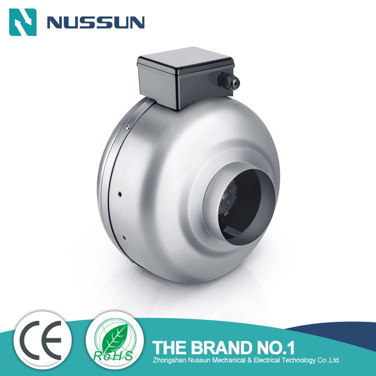 8' industrial inline duct fan manufacture(DJT20U-45M)