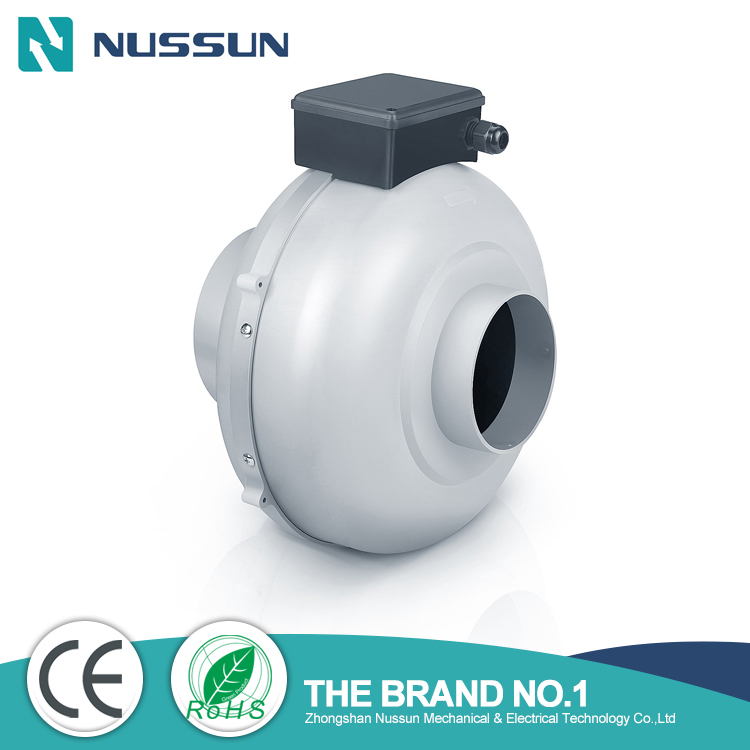 AC Centrifugal inline duct fan