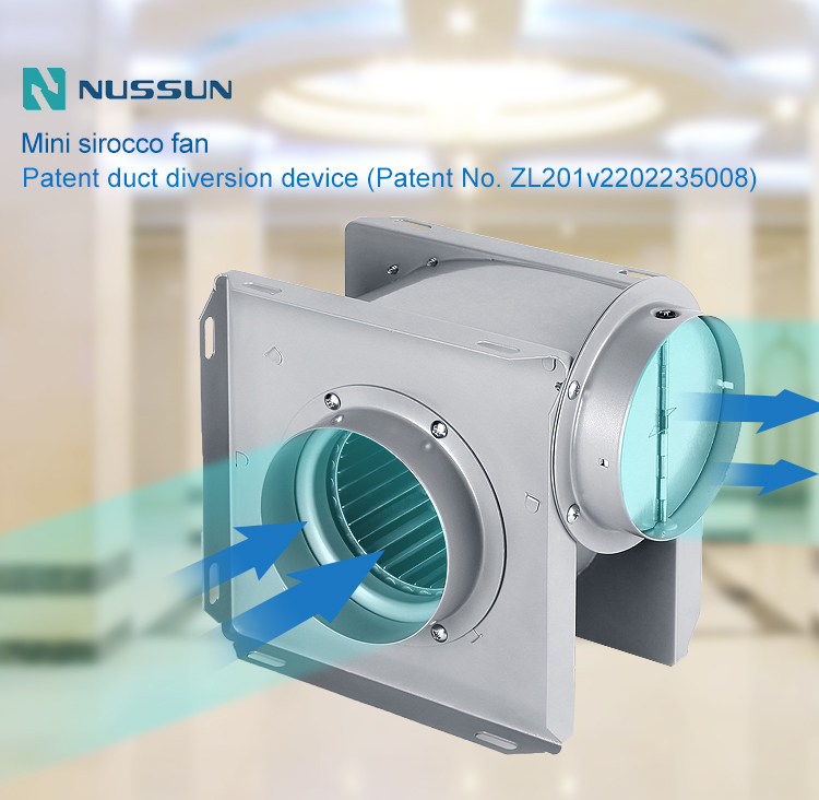 Wholesale mini sirocco fan manufacture (DPT10-11)